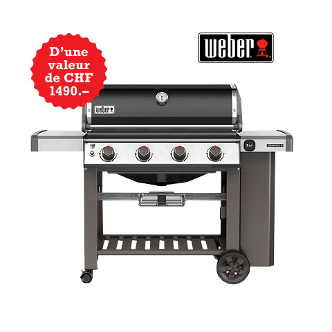 Grand tirage au sort de barbecues