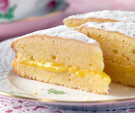 Lemon Victoria Sandwich