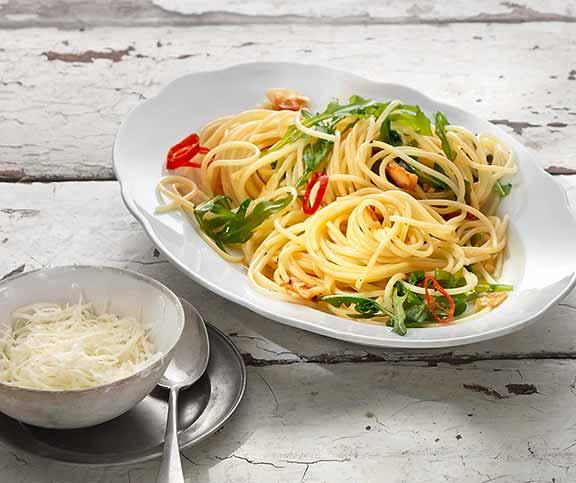 Spaghetti Aglio Olio E Peperoncino Betty Bossi